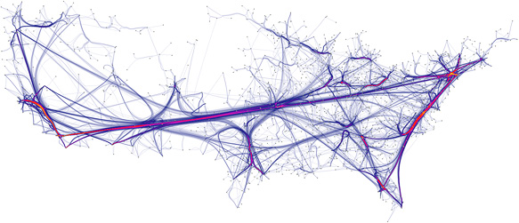 A really pretty network visualization. [via]