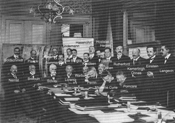 First Solvay Conference. [via]